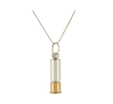 Silver/Gold Pet Cylinder Pendant - Lockets & Keepsakes - Pets in Peace