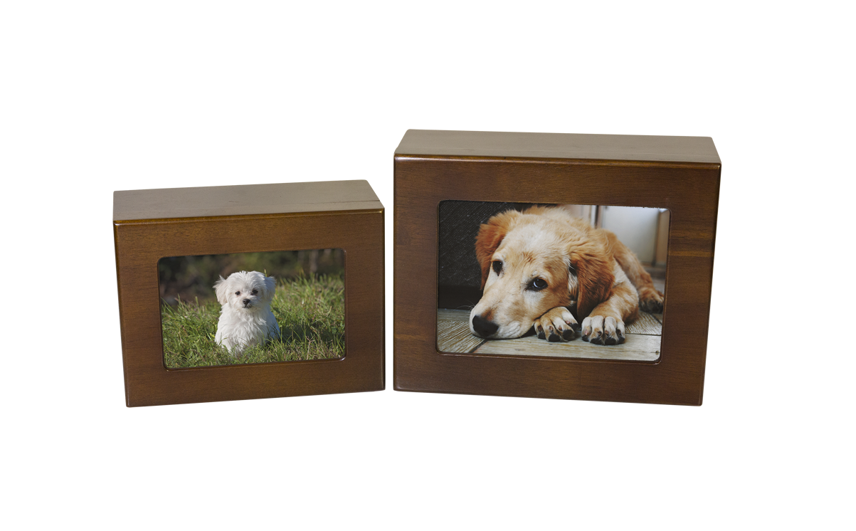 Timber Memorial Photo Box